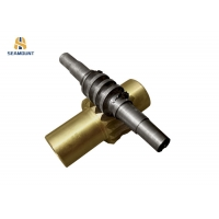 China ODM CNC Machining Copper Worm Gear For Worm Gearbox on sale