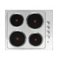 Wholesale Household Appliance Stainless Steel Electric Hob 4 Burner Solid Plate for Cooking from china suppliers