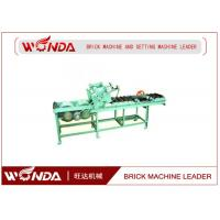 Wholesale Soild Pneumatic Pushing Automatic Cutting Machine 0.7KW In Red Block Line from china suppliers