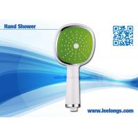 Wholesale Single Spray Face rain shower head with handheld , Square from china suppliers