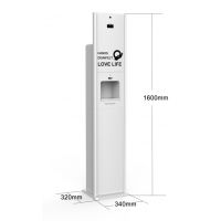 Wholesale 10L alcohol liquid gel foam automatic hand sanitizer stand kiosk from china suppliers