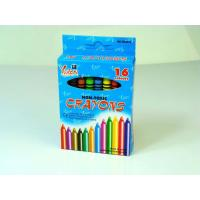 Wholesale Non-toxic 16 PCS Eco-Friendly Wax Crayon in Bulk in Color Box from china suppliers