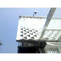 Buy cheap Square PC 3D Decorative Wall Panel Building / Thermal Insulation Panel from wholesalers