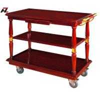 Wholesale Restaurant Food Serving Trolley with Drawers-Serving Cart from china suppliers