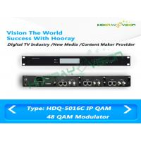Quality Digital CATV Over IP to QAM Modulator 32 Channel With Scrambler And Multiplexer for sale