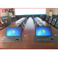 Wholesale 17 Inch Horizontal Flip Up Computer Monitor Lift Carbon Steel With Keyboard Mouse from china suppliers