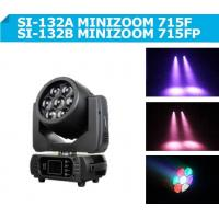 Wholesale 7 pcs 15W 4-IN-1 RGBW LED Wash Zoom , DMX Disco DJ Party lights from china suppliers