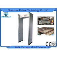 Wholesale 0-999 Sensitivity walk through gate Archway Metal Detector with 33 zones optional network from china suppliers