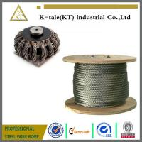 Buy cheap top quality 316 Stainless Steel Wire rope For fishery industry with cheaper price from wholesalers