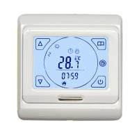 Wholesale 7 Day Programmable Electronic Room Thermostat , Touch Screen Floor Heating Thermostat from china suppliers