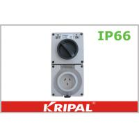 Wholesale 10A IP66 Weatherproof Switch Socket Outlet 250V Rotary Power Switch from china suppliers