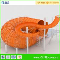 Wholesale Commercial Anaconda Fiberglass Water Slides for Adventure Amusement from china suppliers