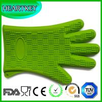 Quality Perfect For Use As BBQ Grilling Heat Resistant Silicone Oven Glove for sale