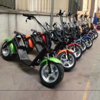 Wholesale Two Wheels Electric Scooter Citycoco Battery Removable Electric Scooter from china suppliers