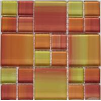 Wholesale Crystal Glass Mosaic Wall Tile for Swimming Pool from china suppliers