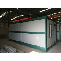 Buy cheap Africa hot sale Modular Sandwich panel folding container office container house from wholesalers