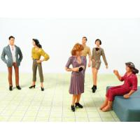 Wholesale Red / Black Architectural Scale Model People Model People Figures from china suppliers