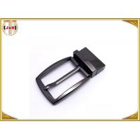 Wholesale Simple Reversible Custom Metal Belt Buckles With Die-Casting Plating from china suppliers
