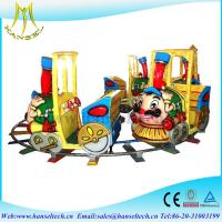 Wholesale Hansel theme park equipment for sale electric amusement kids train electric train rides from china suppliers