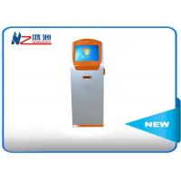 Quality Ground standing card dispenser  bill pay kiosk locations with PC automatic display for sale