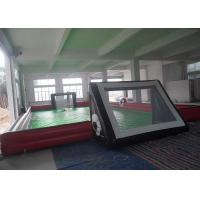 Buy cheap Custom Design Waterproof Outdoor Inflatable Sports Games For Football Pitch from wholesalers