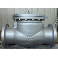 Wholesale Stable Performance Cast Check Valve , CS and SS Swing Check Valve from china suppliers
