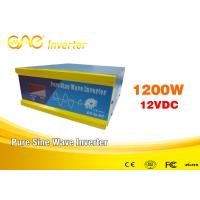 Wholesale Off Grid Intelligent 12v 1200W DC AC Solar Inverter With Battery Charger from china suppliers
