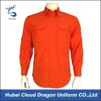 Wholesale Breathable Coral Long Sleeve Military Tactical Shirts European / American Size from china suppliers