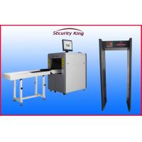Wholesale FCC  small channel  X Ray Baggage Scanner XRay Machines with 6zone metal detector for Airport from china suppliers