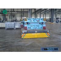 Wholesale heavy duty plant trailer trackless handling car steel cargo transport trolley from china suppliers