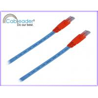 Wholesale 2000V Spark Test 24AWG copper RJ45 Patch Cat5e Network Cables Red Color from china suppliers