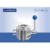 Buy cheap 2'' Manual Mixture Proof Butterfly Valves Stainless Steel 304 / 316L With Pull Handle from wholesalers