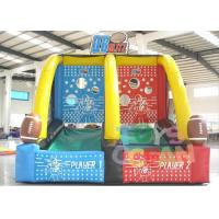 Wholesale Commercial Grade Inflatable Sport Game Two Players Inflatable Basketball Shooting Games from china suppliers