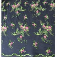 Wholesale Flower in springof Embroidery lace fabric for bridal gown from china suppliers