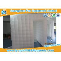 Wholesale Multi Color Inflatable Air Tent Square Tent Booth With Led Lighting from china suppliers