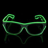 Multi Color Full Frame El Wire Sunglasses Light Up Glow