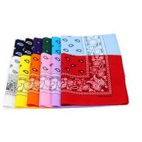 Wholesale Customized Logo Printed Cheap Wholesale Bandanas from china suppliers