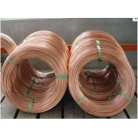 Wholesale copper coated double wall type steel pipe bundy tube 3/16(4.76mm) from china suppliers