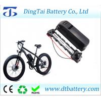 Quality USB down tube Li-ion ebike battery 52V 14Ah for BBSHD/BBS03 mid drive motor and charge for sale
