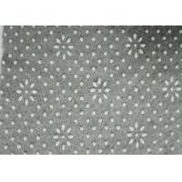 Wholesale Backing Anti-Slip Grey Polyester Needle Punched Technics Nonwoven Fabric With PVC Dots from china suppliers