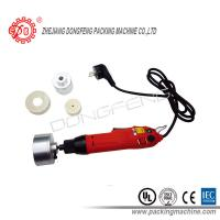 Buy cheap portable Electric Bottle Capper Hand Held Capping Machine For Plastic Bottle / Glass Bottle from wholesalers