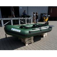 Wholesale Heavy Duty Army Green Marine Inflatable Fishing Dinghy / Boats With 2 Chamber from china suppliers