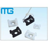 Wholesale white /balck Saddle Type tie mounts with material of PA66, CE approval ,1000PCS /BAG from china suppliers
