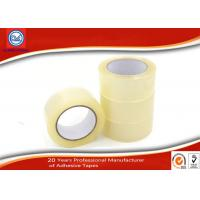 Wholesale Transparent Clear BOPP Adhesive Packing Tape , box sealing tape from china suppliers