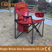 Wholesale Jacquard Fabric Outdoor Camping Car Accessories , Folding Camping Chair from china suppliers