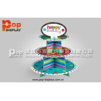 Wholesale Colorful 3 Tiers Cupcake Display Stands For Birthday Cakes Promotion from china suppliers