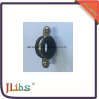 Wholesale Single Pipe Clamp Fittings M7 With EPDM Rubber Yellow Zinc Galvanized Pipe Connector Clamp from china suppliers