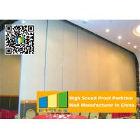 Quality Sliding Folding Partition Walls Office , Acoustic Movable Walls For Banquet Hall for sale