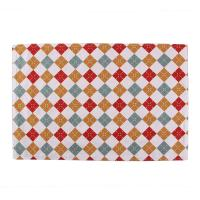 Buy cheap 40 * 35cm Dining Room Table Placemats Christmas Pattern Printed Square Shape from wholesalers