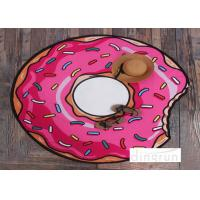Quality Donuts Design Lovely AZO Free Custom Printed Beach Towels Luxury For Travel for sale